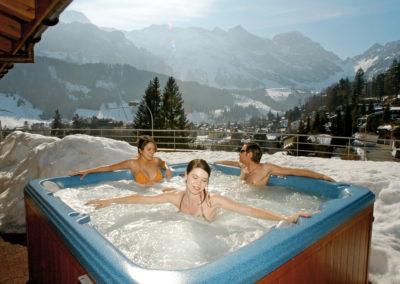 Hotel Edelweiss, Whirlpool;.Hotel Edelweiss, Whirlpool;