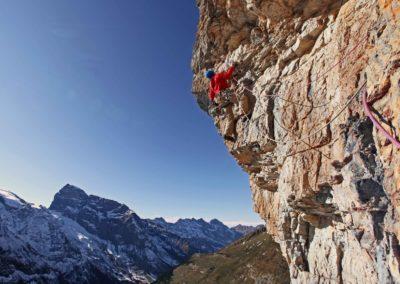 klettern, fels; climbing, rock