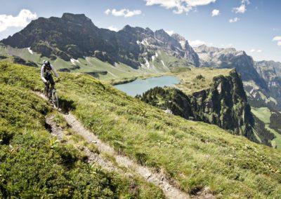Wandern, Biken, Hiking, Brunni, Titlis, Trails