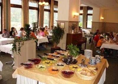 Buffet Speisesaal