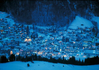 Dorf Engelberg Nacht;Village Engelberg Night;